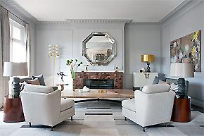 清新的纯净天堂_法式风格样板房设计
