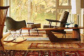 营造迥异家居风格:冬日复古地毯的增温法则