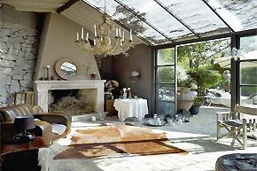 乡间别墅的悠然情致_森系欧式家居的美满生活