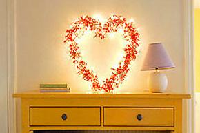DIY心形小物件_小小改变为家装满爱