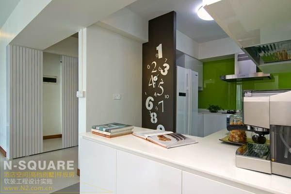 典雅小户型单身公寓软装设计图片