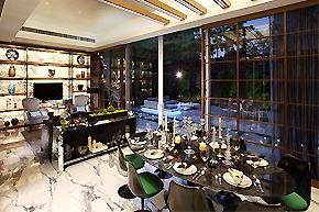 香港Peak House别墅室内设计