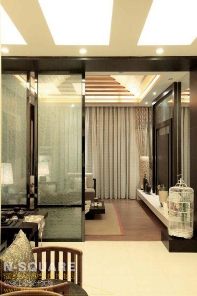 素雅色彩的日式主题样板房设计