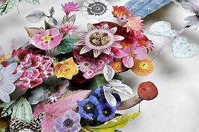 绝对美丽:百态花朵拼出家居清新感