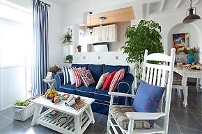 最爱蓝白搭配:地中海风色彩软装席卷你家