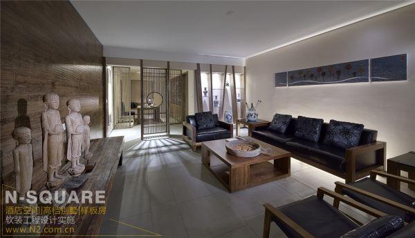 中式风格作为装修样板房装饰基础