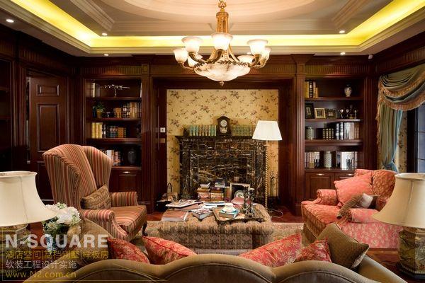 经典欧式风格山地别墅室内设计
