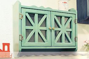 6款壁柜娇俏印象:明媚色彩渲染五月天