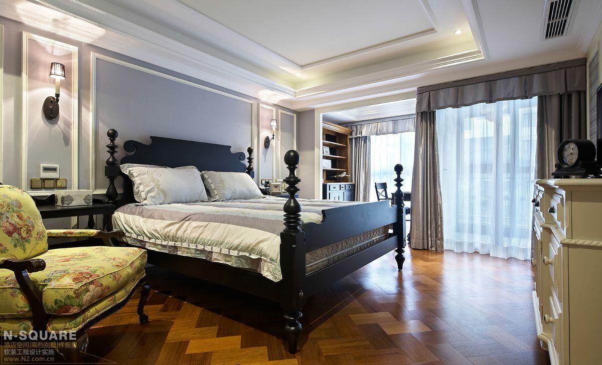 现代美式别墅软装案例