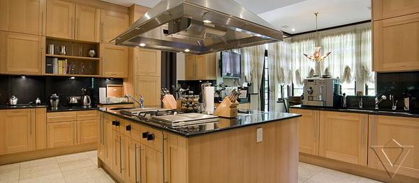 超豪华欧式别墅厨房