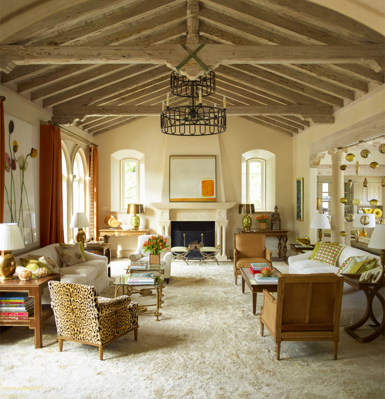 佛罗里达州的一处美式风格住宅软装设计图片