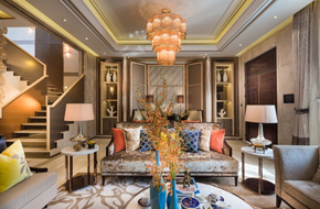 上海现代奢华风格样板房软装
