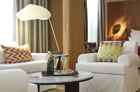 巴黎的韦尔内(Hotel Vernet)酒店的软装设计