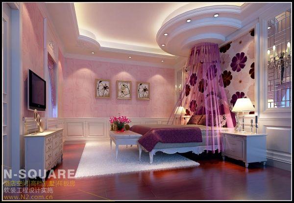 东莞常平的欧式别墅软装设计