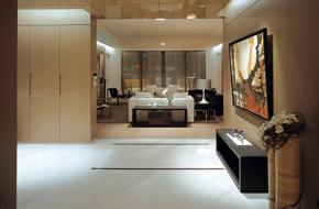 上海静安区时尚简约的样板房