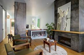 三藩市现代简约风格复式住宅软装