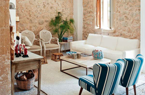 西班牙的地中海风格乡村别墅
