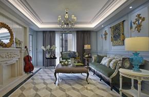 宁波欧式风格样板房软装设计