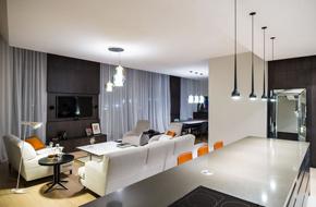 东欧的现代简约公寓软装