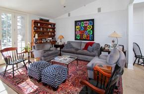 加利福尼亚的一个现代美式复古住宅软装