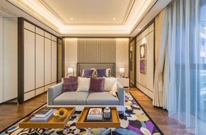杭州西湖区新中式风格样板房软装