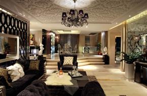 深圳熙龙湾的现代奢华风格样板房软装