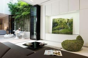 新加坡的现代简约住宅