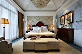惠州法式风格的别墅样板房软装