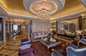 成都228㎡的高层公寓软装设计