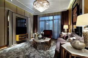 上海惠南镇的时尚样板房设计