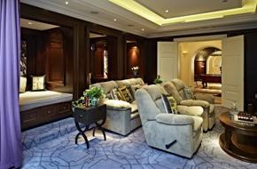 杭州1000㎡的现代法式风格别墅软装
