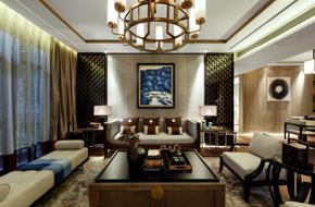 上海170平米的新中式样板房