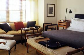纽约汉普顿的简约美式住宅软装
