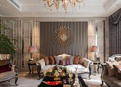 绍兴的新古典主义风格的别墅样板房软装