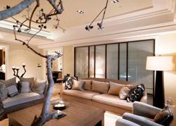 台北215平米新古典风格豪宅软装