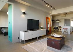 台湾的开放式现代住宅