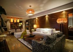 一个东南亚风格的住宅软装