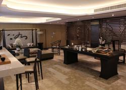 上海青浦区的中式风格样板房软装设计