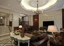 杭州350平米的经典美式别墅软装