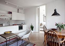 波兰首都的舒适小公寓设计