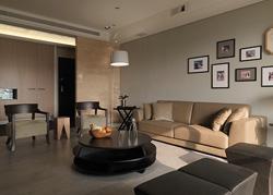 竹北200平米的机能简约住宅设计