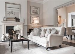 伦敦古典优雅的联排住宅软装