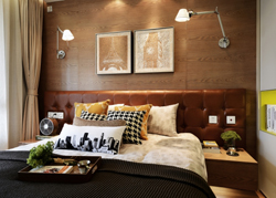 上海嘉定区的复式样板房软装