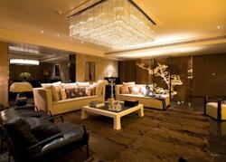 上海浦东的后现代风格样板房软装