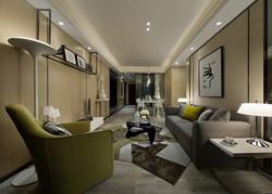 深圳光明新区的现代样板房软装
