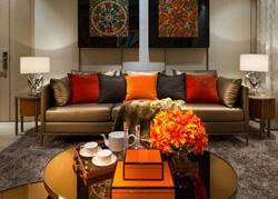 成都凯旋门的奢华艺术的样板房设计