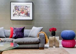 国外单身公寓的色彩软装